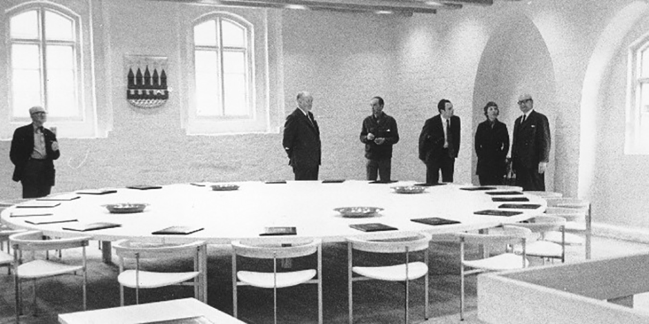 Byrådssalen i Kalundborg